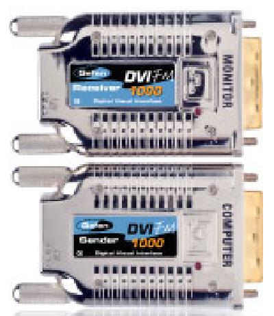 Gefen EXT-DVI-FM1000 Fiber Optic Modules for 3300ft DVI Extension