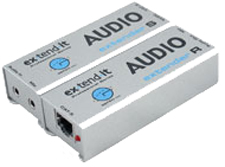 Gefen EXT-AUD-1000 Extends analog stereo audio & Mic up to 1000 ft