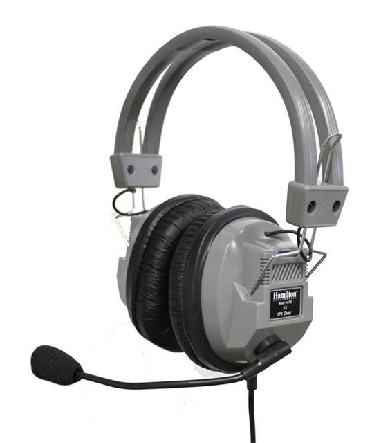 Hamilton HA7M SchoolMate Deluxe Headphone, Boom Mic