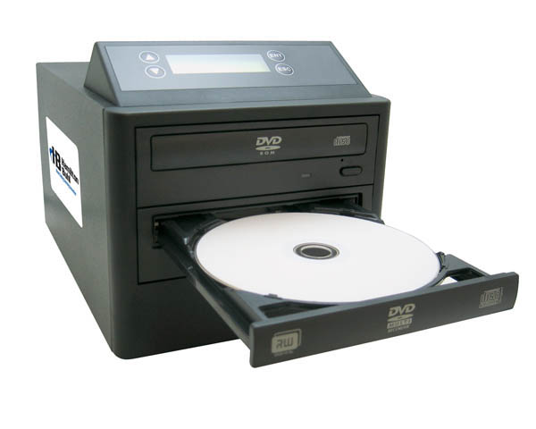 Hamilton Buhl HB121 1:1 DVD/CD Duplicator with LCD Screen