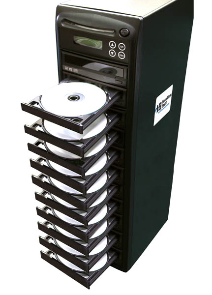 Hamilton Buhl HB1210 1:10 DVD/CD Duplicator with LCD Screen