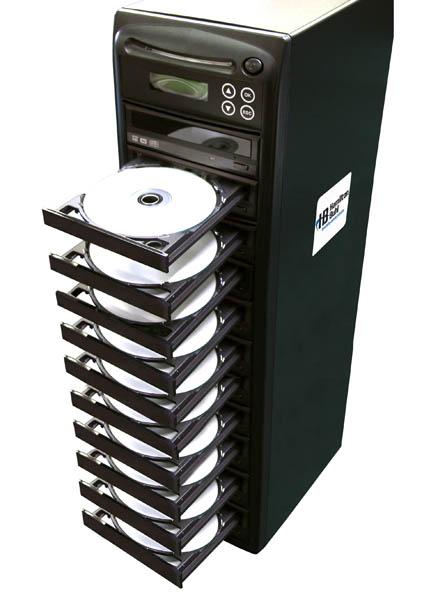 Hamilton Buhl HB1210 1:10 DVD/CD Duplicator with LCD Screen