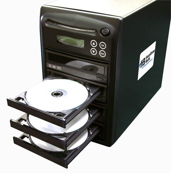 Hamilton HB123 1 Reader to 3 Writer DVD/CD Duplicator