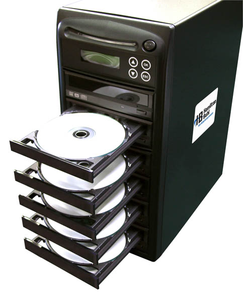 Hamilton Buhl 1 Reader to 5 Writer DVD/CD Duplicator