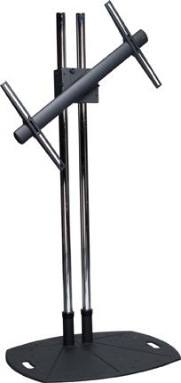 Premier Mounts TL60RTM Lightweight Floor Stand w/ 60 in. DualPoles