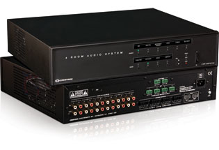 Crestron C2N-AMP-4X100 4 Room Audio Distribution System