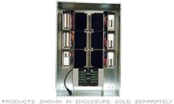 Automation Enclosure, 7 modules high x 1 module wide - International Version