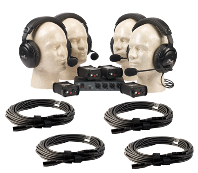 Product: Anchor COM-40FC/C PortaCom 4 Headset Wired Intercom System ...