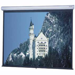 Da-Lite 91833 84in. Model C Front Projection Screen (Matte White) 4:3