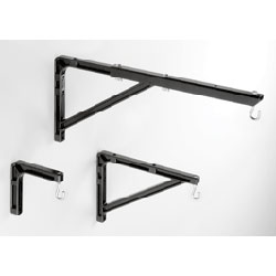 Da-Lite 98035 Black 6in Extension Mounting Bracket