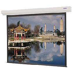 Da-Lite 89758 106in. Designer Contour Electrol Screen, Matte White (16:9)