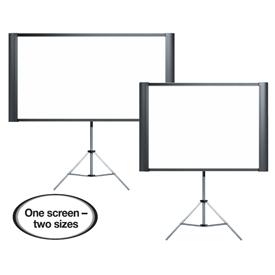 Epson Duet Portable Tripod Projector Screen