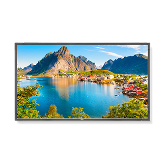 NEC E805-R 80in. LED Backlit Commercial-Grade Display, Refurbished