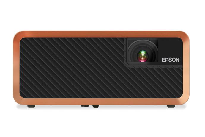 Epson Home Cinema EF-100 2000lm WXGA Portable Laser Projector w/ Android TV, Black