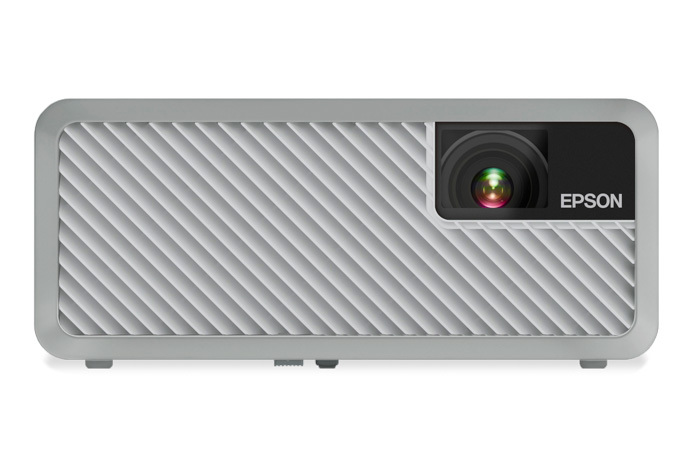 Epson Home Cinema EF-100 2000lm WXGA Portable Laser Projector w/ Android TV, White