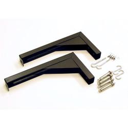Elite ZVMAXLB12-B 12in Black Brackets for VMAX & Manual Screens