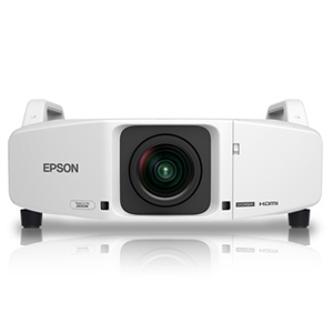 Epson PowerLite Pro Z8450WUNL Multimedia Projector, Refurbished (Lens Not Included)