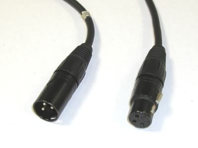Anchor EX-75M EX-75 75ft XLR Male to Female Mic Cable