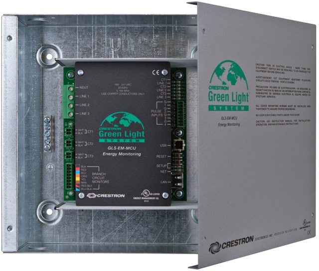 Crestron Green Light Power Meter Control Unit