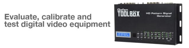 GefenToolBox HD Pattern Signal Generator