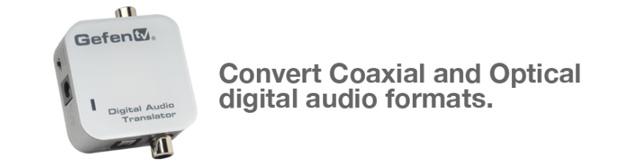 GefenTV Digital Audio Translator (Pre-Order)