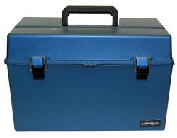 Hamilton Buhl HMC3166 Large Carrying Case for Listening Centers (Blue)