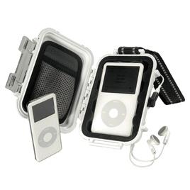 PELICAN i1010-White MicroCase for Apple iPod, Shuffle, and Nano