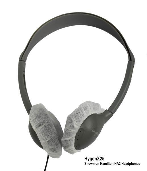 Hamilton HygenXWR25 HygenX Sanitary Headphone Covers - 600 Pairs