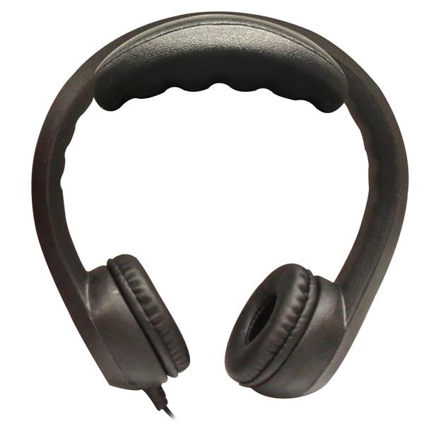 Hamilton KIDS-BLK Flex-Phones, Foam Headphones, Black