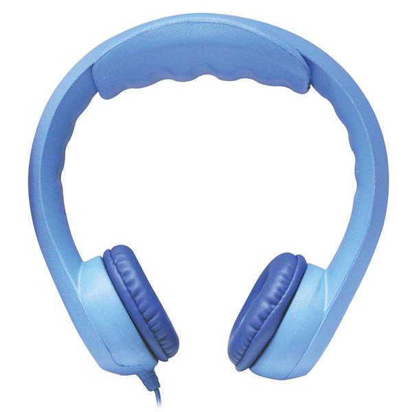 Hamilton KIDS-BLU Flex-Phones, Foam Headphones, Blue