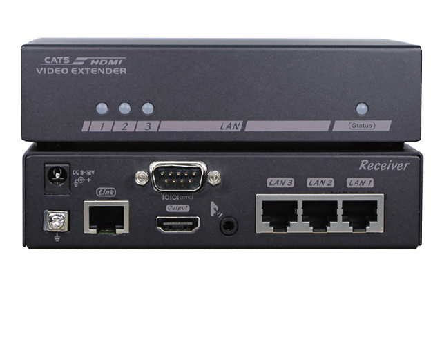 Optoma EVBMNM110 HDBaseT HDMI Over CAT5 Extender w/ IR Serial and Ethernet