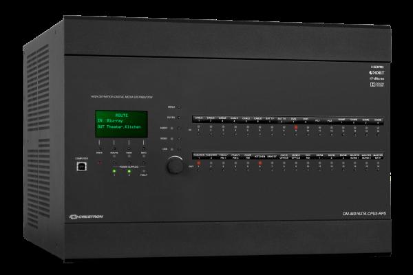 Crestron DM-MD16X16-CPU3-RPS 16x16 DigitalMedia Switcher w/ Redundant Power Supplies