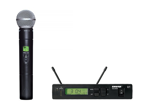 Shure ULXS24/58-J1 Handheld Wireless System (J1: 554 to 590 MHz)