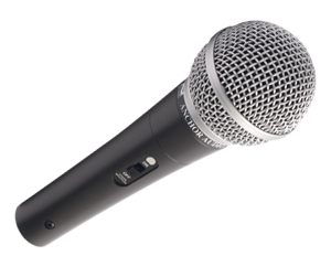 Anchor MIC-90 Handheld Dynamic Vocal Microphone w/ Windscreen & 20' XLR Cable