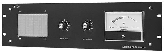 TOA MP-032B Passive Rack Monitor Panel