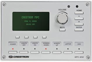 Media Presentation Controller M50, black - LCD Display, 16 btns, & volume