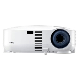 NEC VT595-C Projector, Less Than 20% Lamp Life Remaining