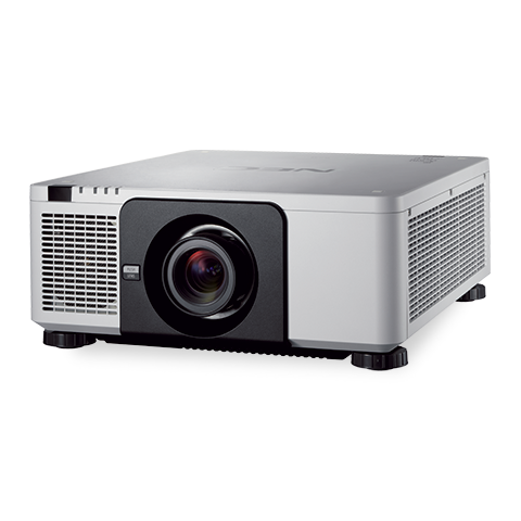 NEC NP-PX803UL-WH-R 8000lm WUXGA Installation Projector (White), Refurbished