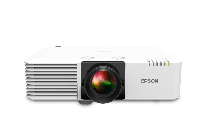 Epson Powerlite L610W 6000lm WXGA 3LCD Laser Projector, White