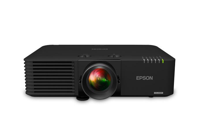 Epson Powerlite L615U 6000lm WUXGA Wireless 3LCD Laser Projector, Black