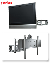 Peerless PLA50 Articulating Wall Arm for 32-50in. Plasma and LCD Displays