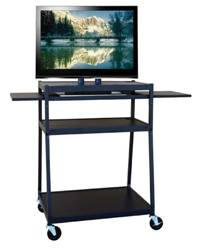Buhl Wide Body Flat Panel TV Cart (Up to 42in. Display)