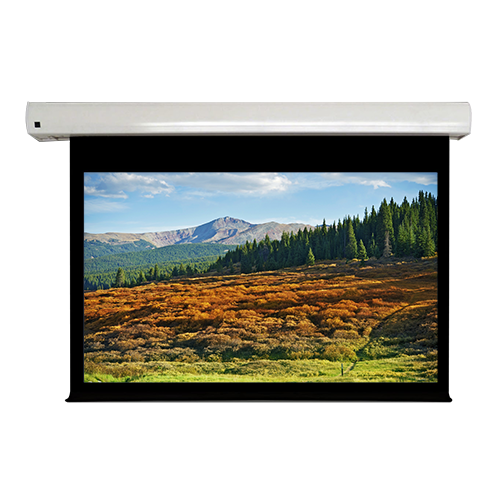 PSS PE1610109MG 109in. Motorized Projection Screen (57.5 x 92.1)