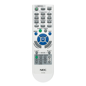 NEC RMT-PJ31 Replacement Remote Control for M260X/M260W/M300X