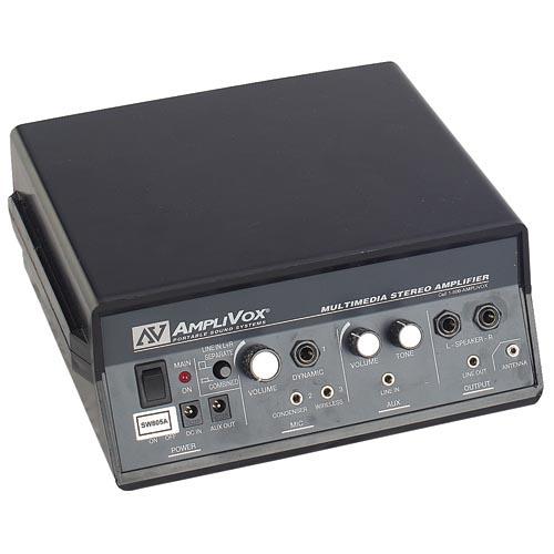 Amplivox S805A 50W Multimedia Stereo Amplifier