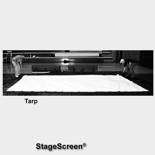 Draper 383483 StageScreen Tarp (144 x 216 in. Black)