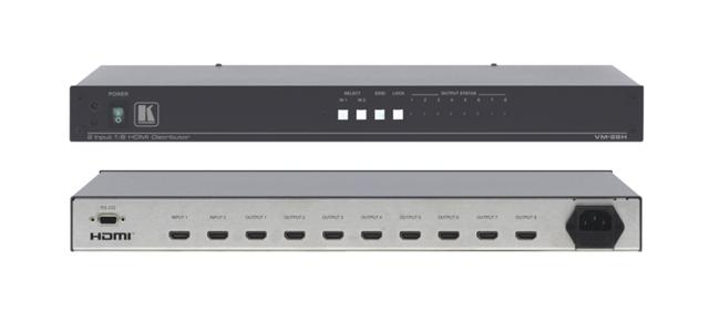 Kramer VM-28H 2x1:8 HDMI Distribution Amplifier