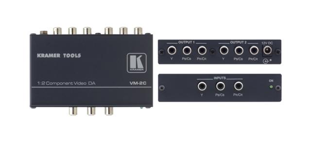 Kramer VM-2C 1:2 Component Video Distribution Amplifier