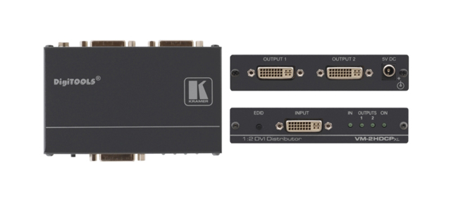 Kramer VM-2HDCPxl 1:2 DVI Distribution Amplifier