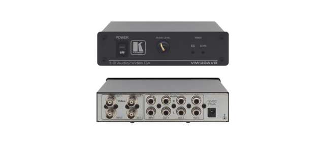 Kramer VM-30AVB 1:3 Composite Video & Stereo Audio Distribution Amplifier